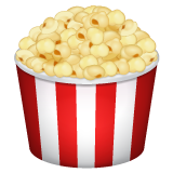 Popcorn whatsapp emoji