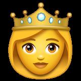 Princess whatsapp emoji
