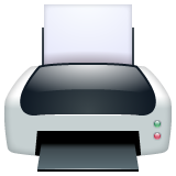 Printer whatsapp emoji