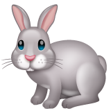 Rabbit whatsapp emoji