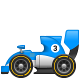 Racing Car whatsapp emoji