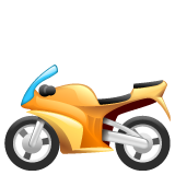 Racing Motorcycle whatsapp emoji