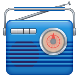 Radio whatsapp emoji