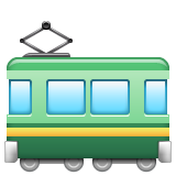 Railway Car whatsapp emoji