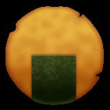 Rice Cracker whatsapp emoji
