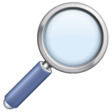 Right-pointing Magnifying Glass whatsapp emoji