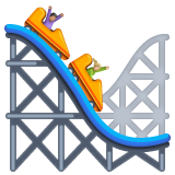 Roller Coaster whatsapp emoji