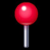 Round Pushpin whatsapp emoji