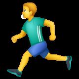 Runner whatsapp emoji