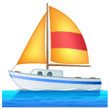Sailboat whatsapp emoji