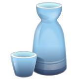 Sake Bottle And Cup whatsapp emoji