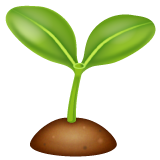 Seedling whatsapp emoji