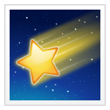 Shooting Star whatsapp emoji