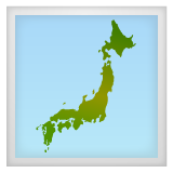Silhouette Of Japan whatsapp emoji