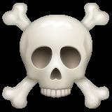 Skull And Crossbones whatsapp emoji