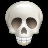Skull whatsapp emoji