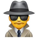 Sleuth Or Spy whatsapp emoji