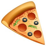 Slice Of Pizza whatsapp emoji