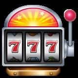 Slot Machine whatsapp emoji