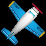 Small Airplane whatsapp emoji