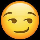 Smirking Face whatsapp emoji