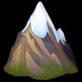Snow Capped Mountain whatsapp emoji