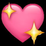 Sparkling Heart whatsapp emoji