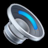 Speaker With One Sound Wave whatsapp emoji