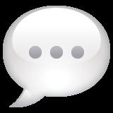 Speech Balloon whatsapp emoji