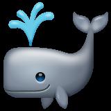 Spouting Whale whatsapp emoji