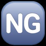 Squared Ng whatsapp emoji