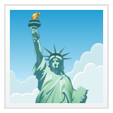Statue Of Liberty whatsapp emoji
