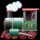 Steam Locomotive whatsapp emoji
