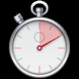 Stopwatch whatsapp emoji