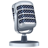Studio Microphone whatsapp emoji