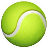 Tennis Racquet And Ball whatsapp emoji