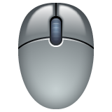 Three Button Mouse whatsapp emoji