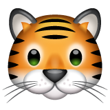 Tiger Face whatsapp emoji