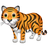 Tiger whatsapp emoji