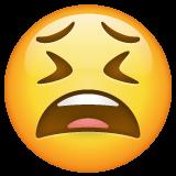 Tired Face whatsapp emoji