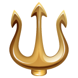 Trident Emblem whatsapp emoji