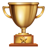 Trophy whatsapp emoji