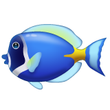Tropical Fish whatsapp emoji