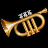 Trumpet whatsapp emoji