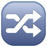 Twisted Rightwards Arrows whatsapp emoji