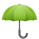 Umbrella whatsapp emoji