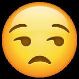 Unamused Face whatsapp emoji