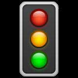Vertical Traffic Light whatsapp emoji