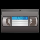 Videocassette whatsapp emoji