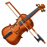 Violin whatsapp emoji